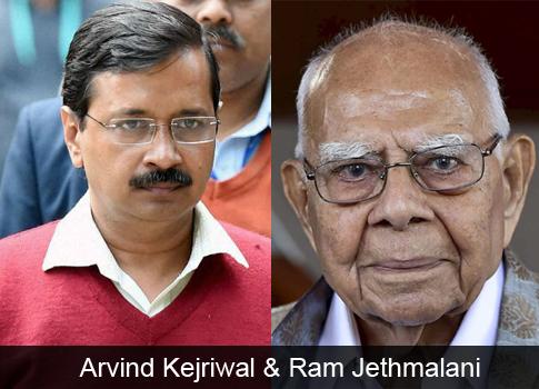 CM Kejriwal, Ram Jethmalani