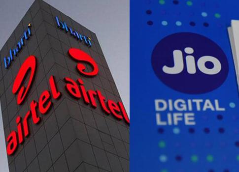Airtel, Reliance jio