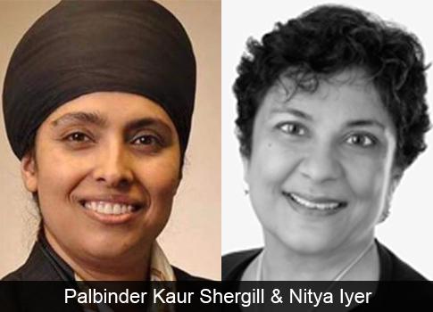 Palbinder Kaur Shergill, Nitya Iyer