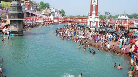 Ganga-living-entity