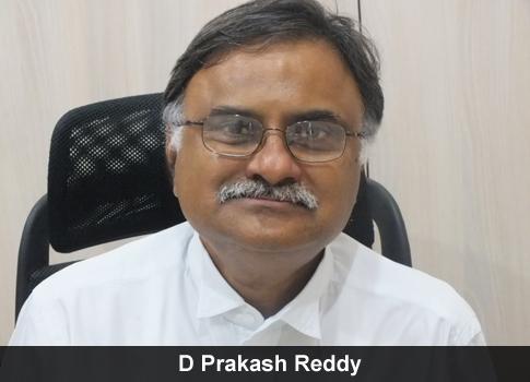D Prakash Reddy
