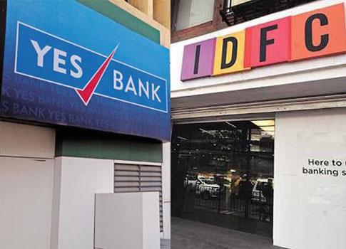 Yes Bank, IDFC