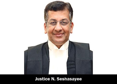 Justice-N-Seshasayee
