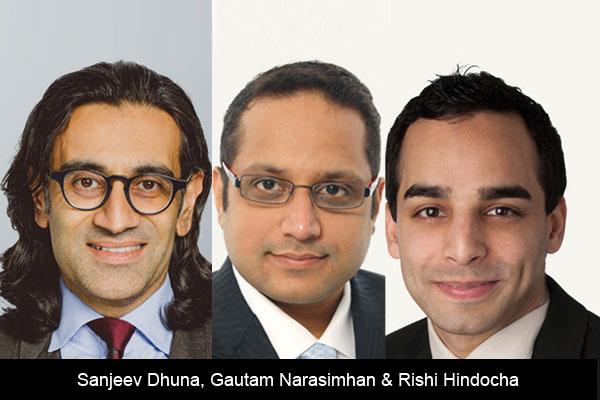 Sanjeev-Dhuna-Gautam-Narasimhan-&-Rishi-Hindocha