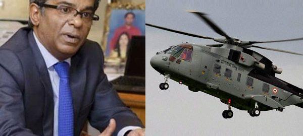 Rajeev-Saxena-AgustaWestland-Chopper