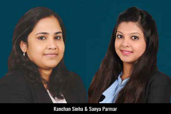 Kanchan-Sinha-&-Sanya-Parmar