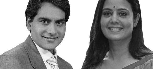 Sudhir-Chaudhary-&-Mahua-Moitra