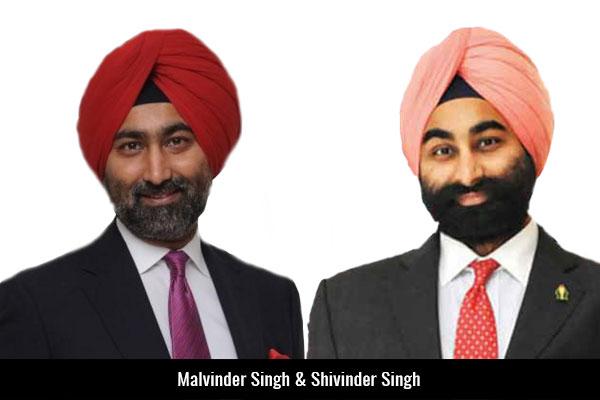 Malvinder-Singh-&-Shivinder-Singh