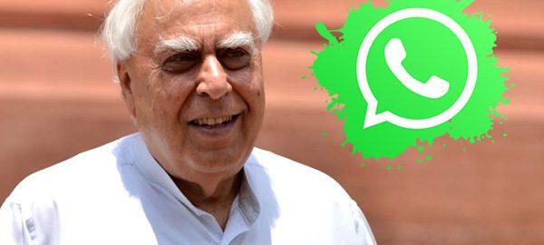 Kapil-Sibal-WhatsApp