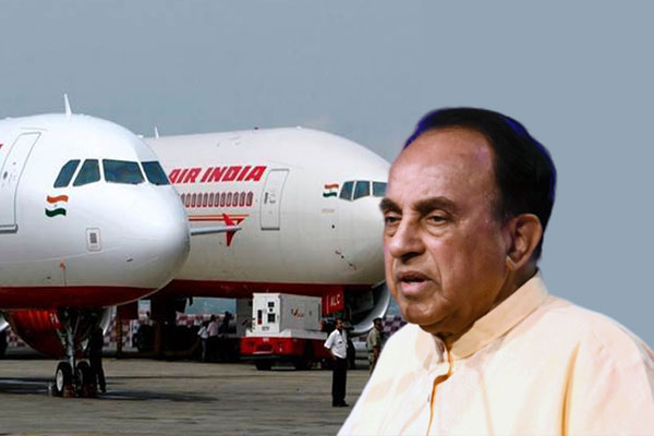 Subramanian-Swamy-&-Air-India